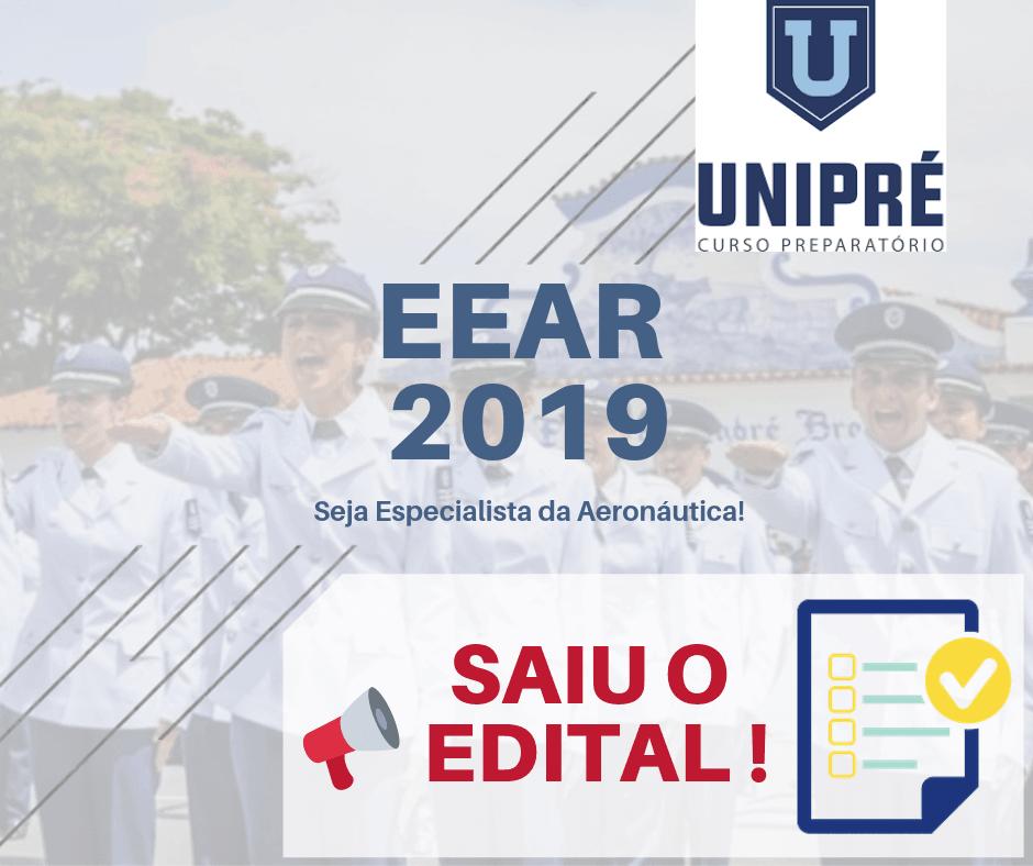 Saiu o Edital 2019 para o Concurso EEAR CFS 1/2020 - Escola Especialista da Aeronáutica!
